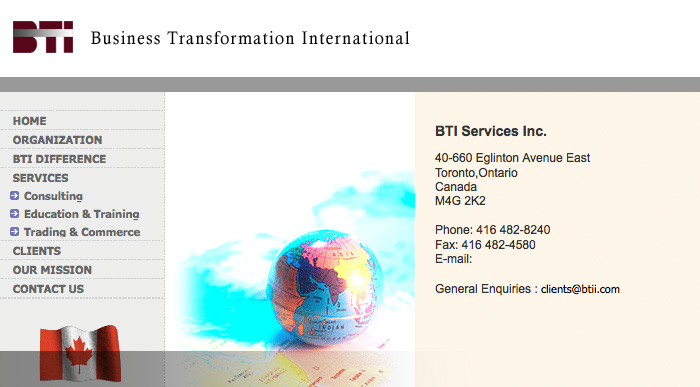 Business Transformation Int.