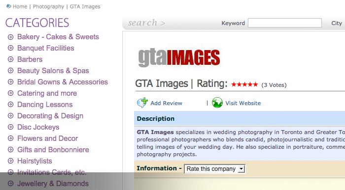 GTA Wedding Guide